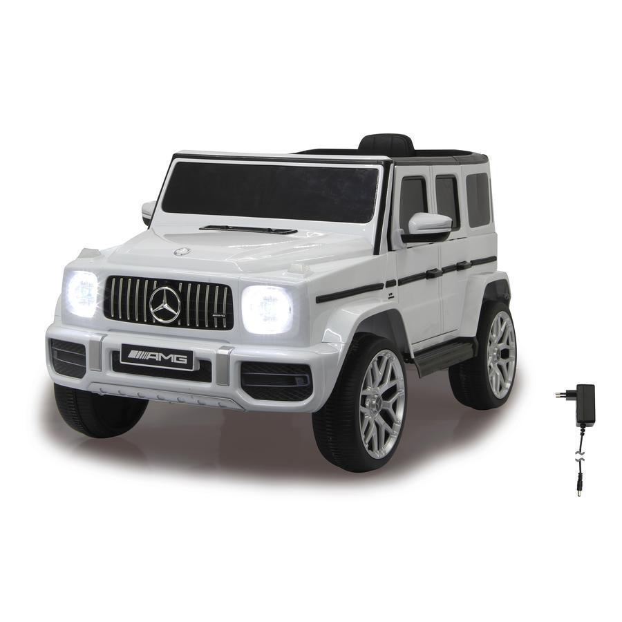 JAMARA Voiture électrique enfant Ride-on Mercedes-Benz AMG G 63 blanc