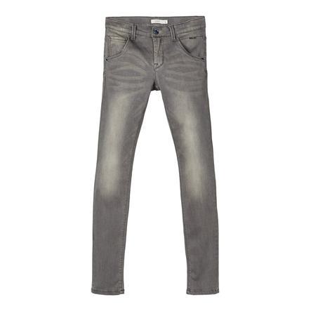 name it Jeans NMMNitclas ciemnoszary denim