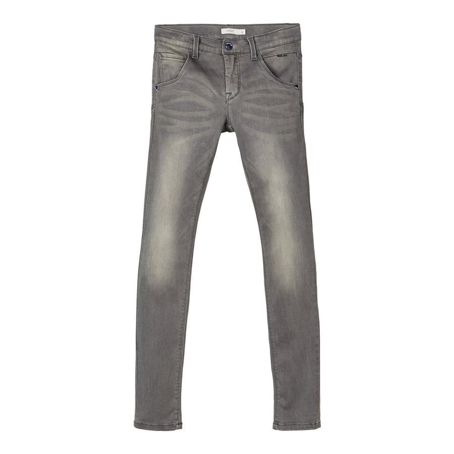 name it Jeans NMMNitclas denim gris oscuro