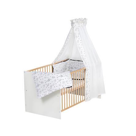 Schardt Komplett seng Klasse ic Gull Origami Svart 70 x 140 cm