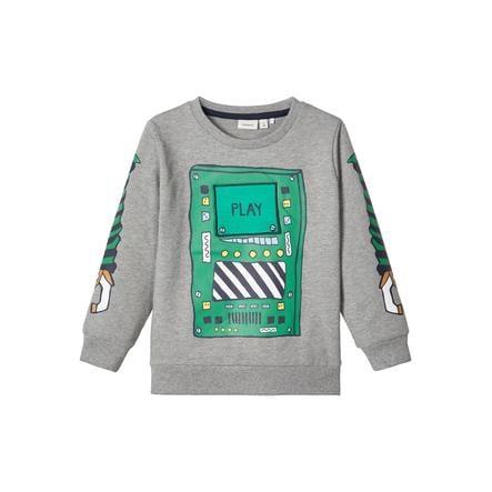 name it Drenge sweatshirt NMMBOBOT Grå melange