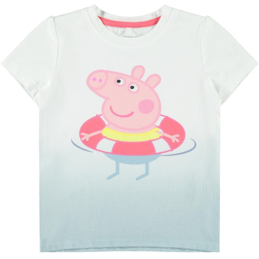 name it T-Shirt NMFPEPPAPIG Dream Blue