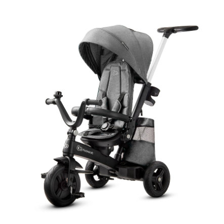 Kinderkraft Tricycle évolutif enfant EASYTWIST platinum grey