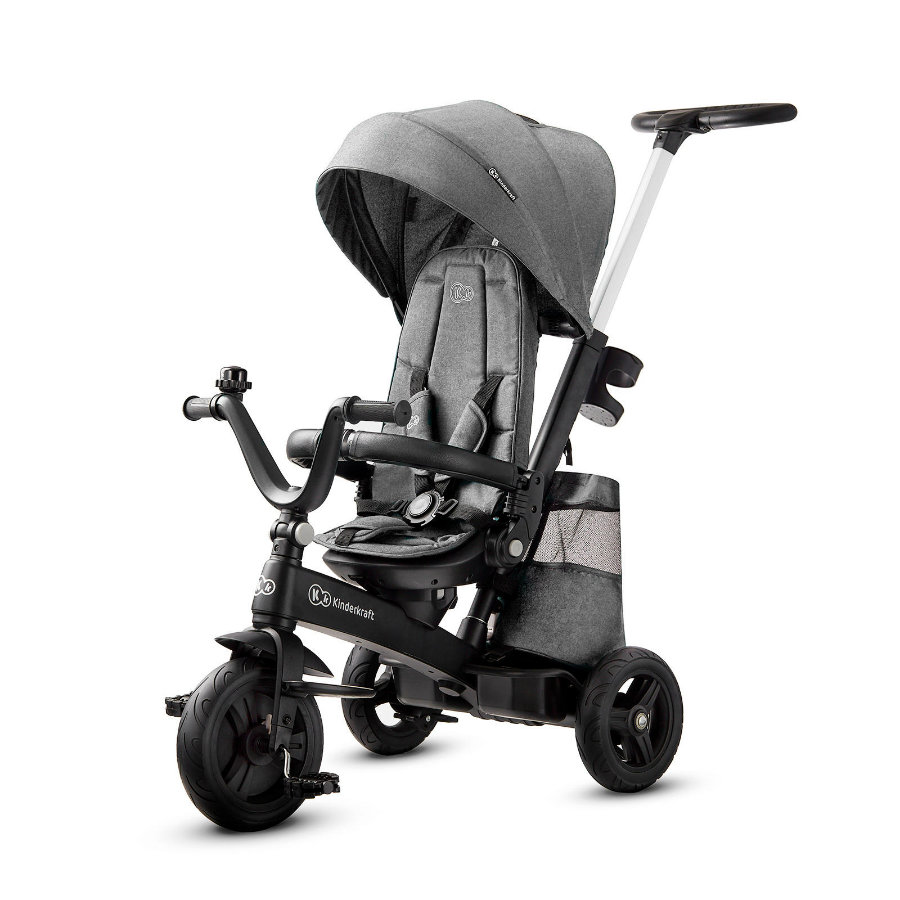 Kinderkraft Tricycle EASYTWIST platinum grey