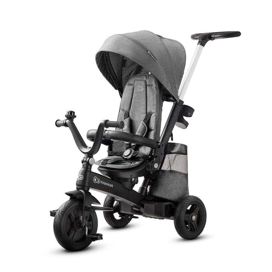 Kinderkraft Tricycle évolutif enfant EASYTWIST platinum grey