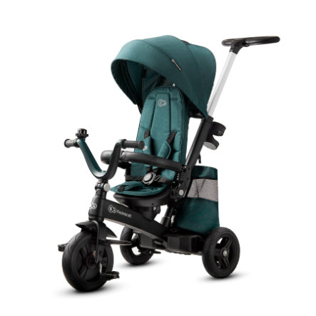Kinderkraft Triciclo EASYTWIST mid night  green