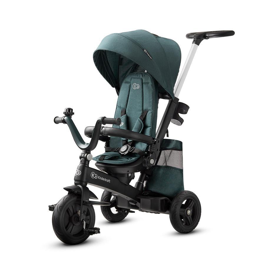 Kinderkraft Tricycle EASYTWIST midnight green