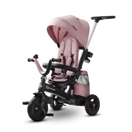 Kinderkraft Rowerek trójkołowy EASYTWIST mauvelous pink