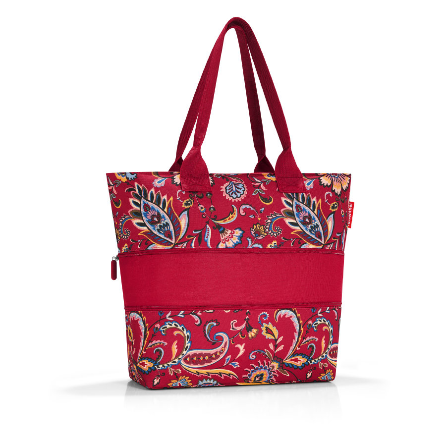 reisenthel® shopper e1 paisley ruby