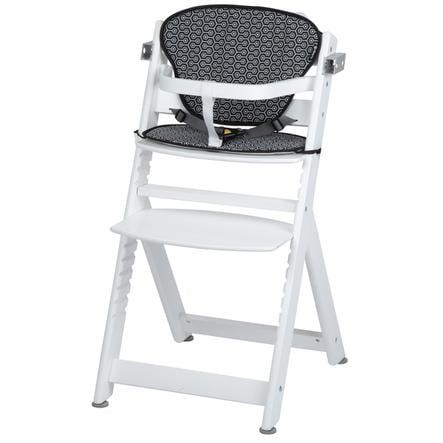 Safety 1st  vysoká židle Timba se sedákem White Geometric
