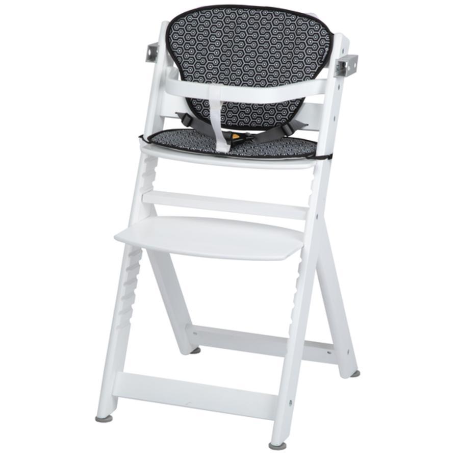 Safety 1st Krzesełko do karmienia Timba + poduszka redukcyjna  White Geometric