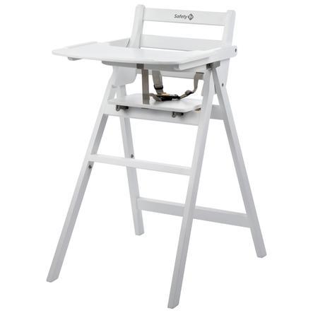Sikkerhed 1. sammenklappelig højstol Nordik White
