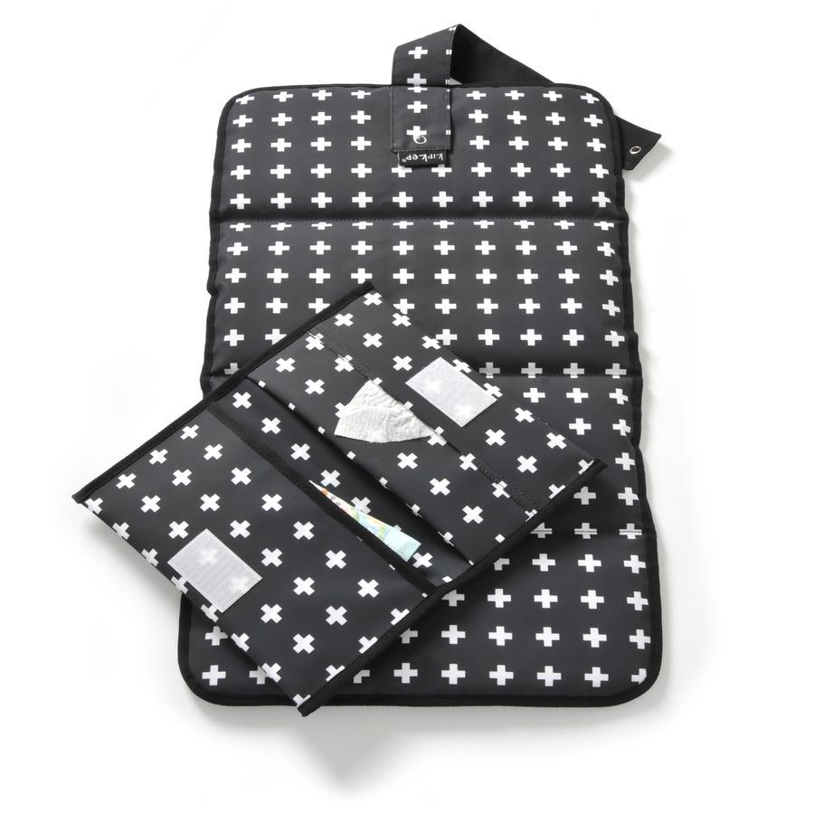 KipKep Combi Set di pannolini per napper Cross y Black