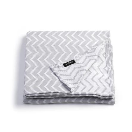 KipKep Serviette de bain enfant Blenker Silver Grey 200x120 cm