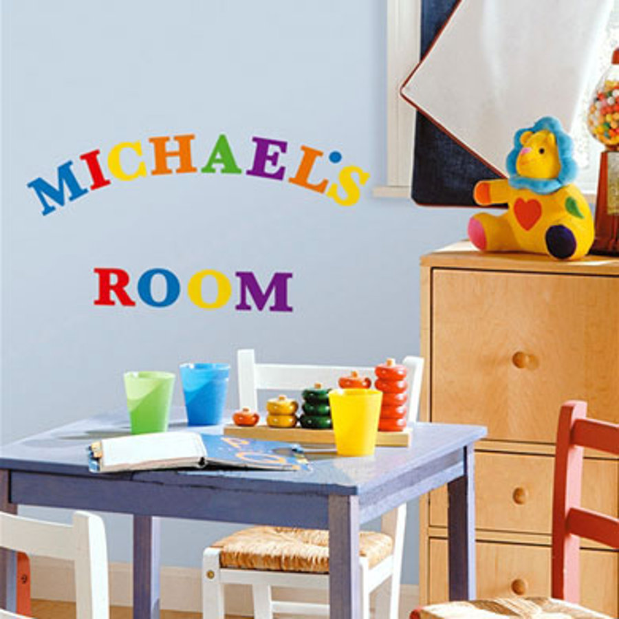 ROOMMATES Wall Stickers Letters