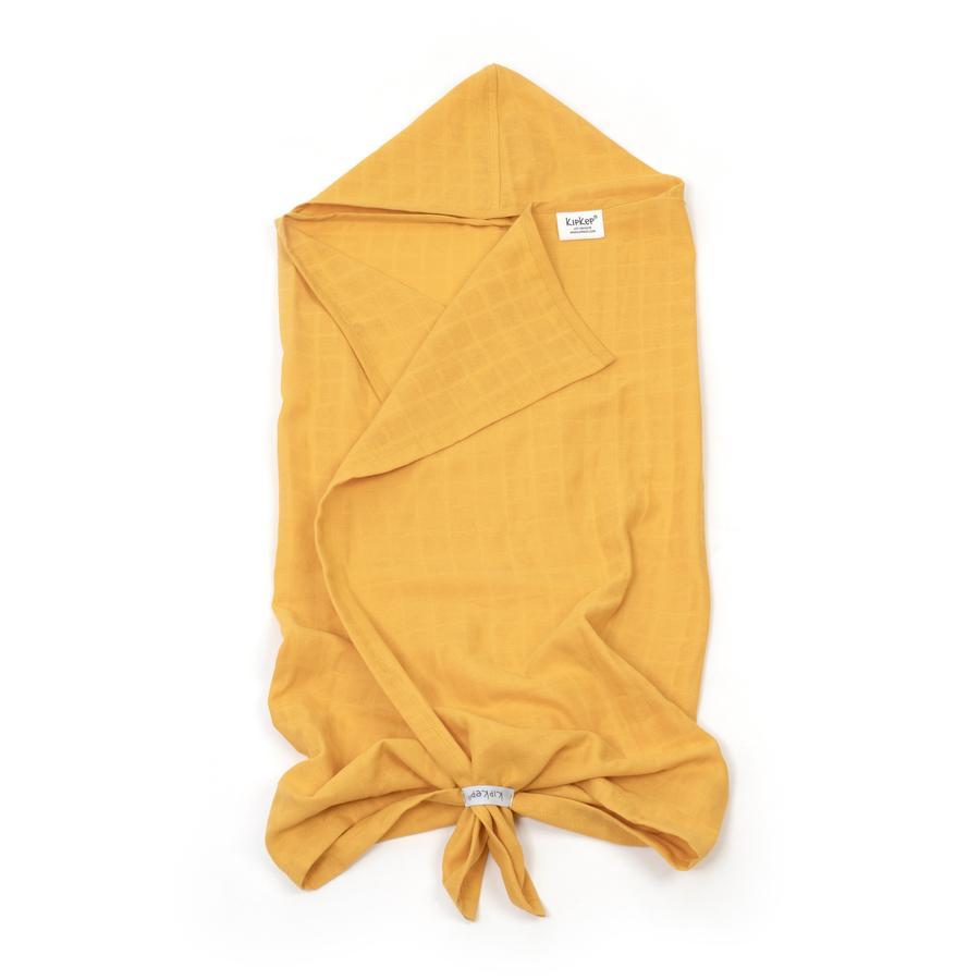 KipKep Blenker badhandduk med huva Little Bees