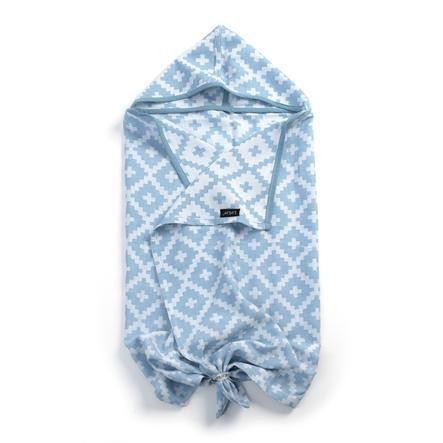 KipKep Blenker Handdoek met capuchon Niagara Blue