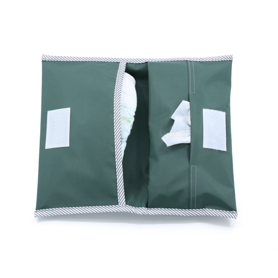 KipKep Caja para enrollar pañales Calmante Green