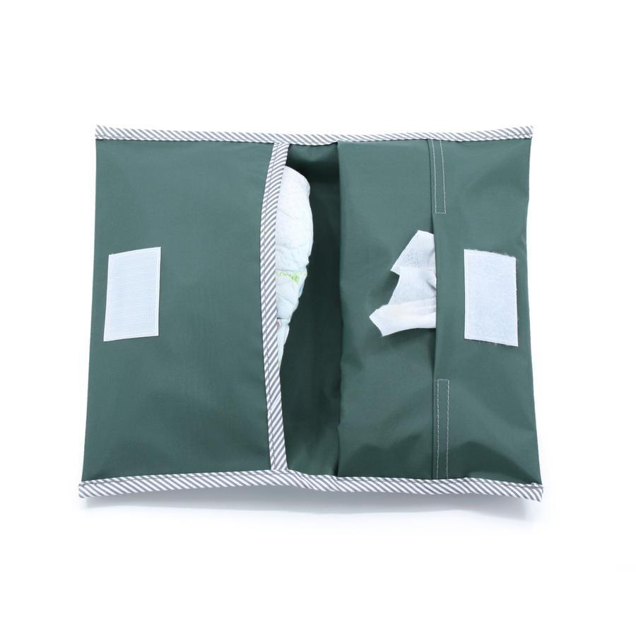 KipKep Pochette à langer Napper Calming Green