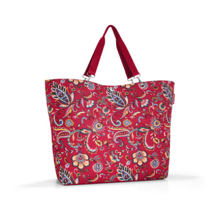 reisenthel nákupní taška XL paisley rubín