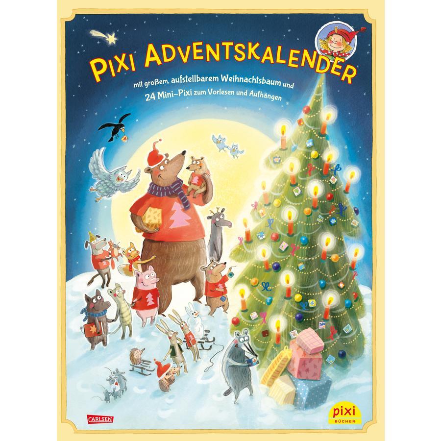 CARLSEN Pixi Adventskalender mit Weihnachtsbaum 2020