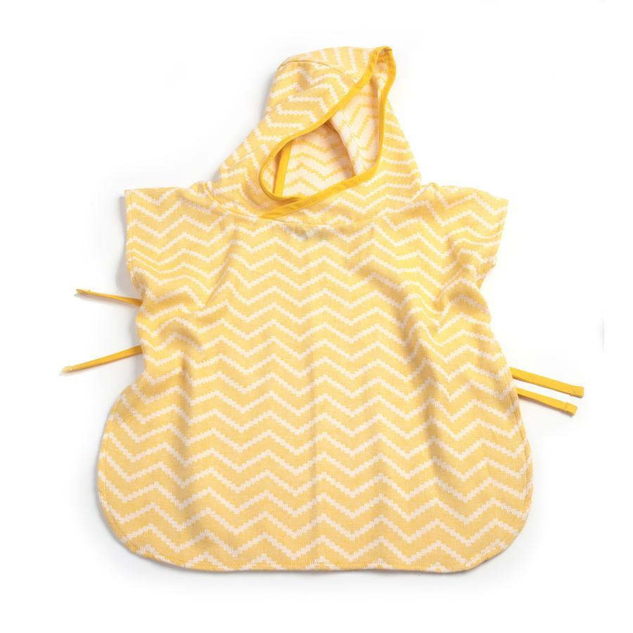 KipKep Poncho de bain enfant Blenker Sunset Gold 45x47 cm