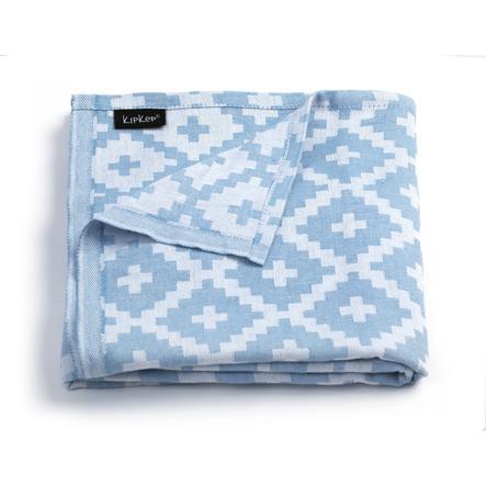 KipKep Blenker badehåndklæde 170 x 100 cm Niagara Blue