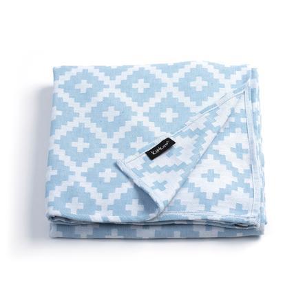 KipKep Blenker Handdoek 200 x 120 cm Niagara Blue