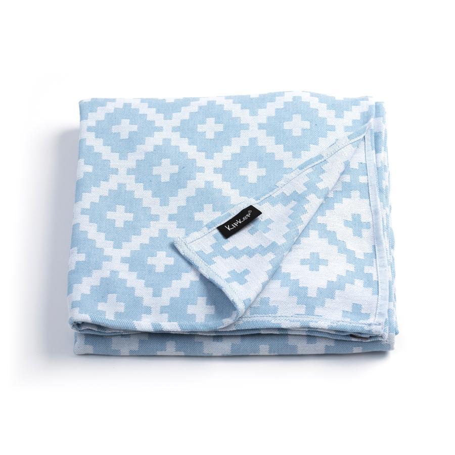 KipKep Blenker badehåndklæde 200 x 120 cm Niagara Blue