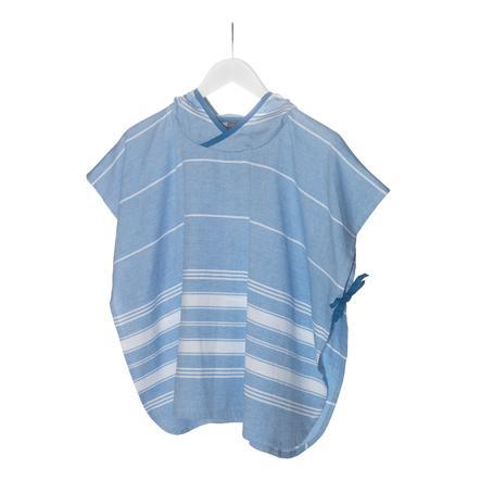 KipKep Blender kąpielowy poncho 68 x 55 cm Niebieski