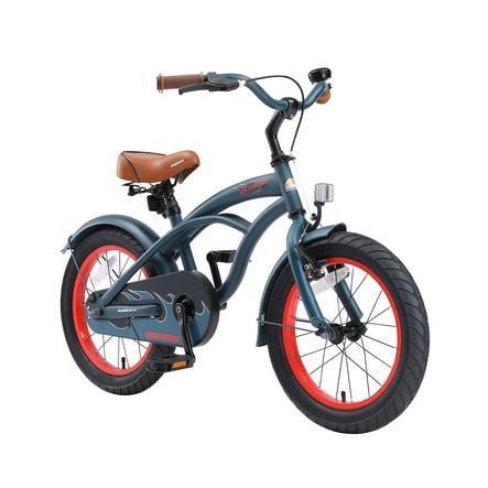 bikestar Lasten polkupyörä Premium 16'' Cruiser sininen
