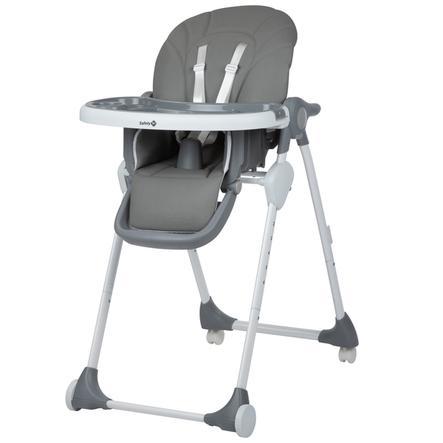 Safety 1st Chaise haute évolutive enfant Looky Warm Grey