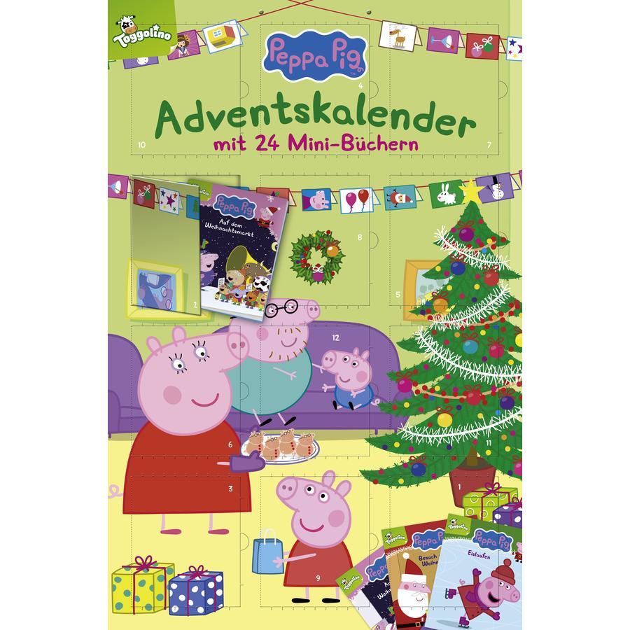 CARLSEN Peppa Pig Adventskalender