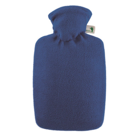 HUGO FROSCH Varmtvandsflaske Klassik 1,8 L fleececover blå