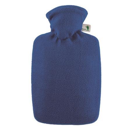 HUGO FROSCH Wärmflasche Klassik 1.8 L Fleecebezug blau
