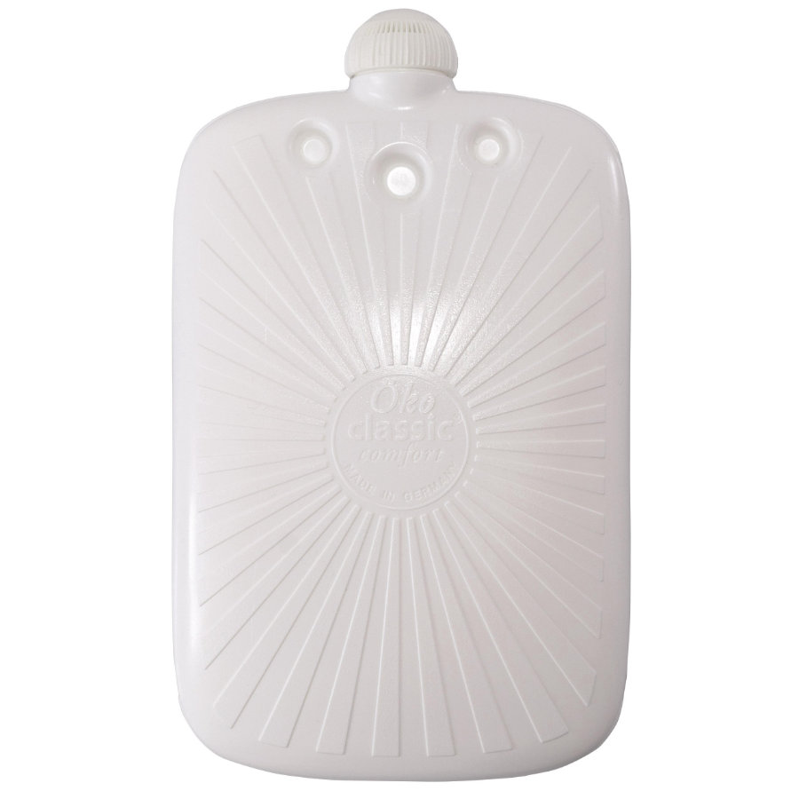HUGO FROSCH Wärmflasche Öko 2.0 l weiß