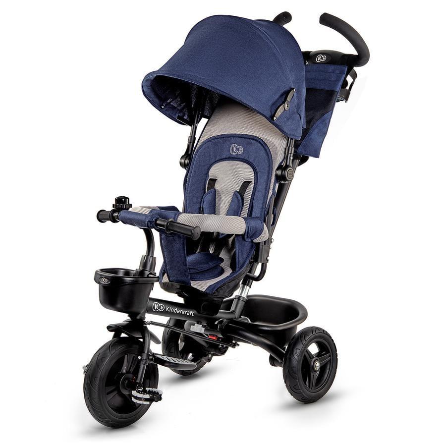 Kinderkraft 6 in 1 driewieler Aveo, blauw