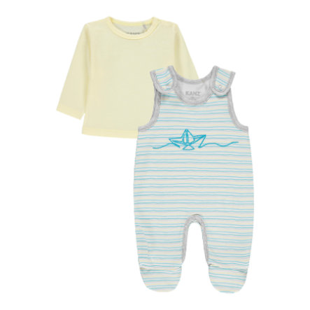 KANZ Boys Strampler-Set y/d stripe|multicolored