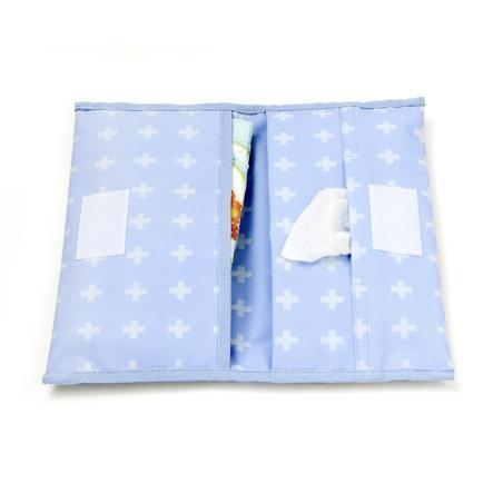 KipKep Valigetta per il cambio della pinza Cross y Blu