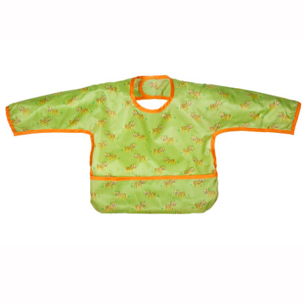 LÄSSIG Long Sleeve Bib Wildlife Tiger
