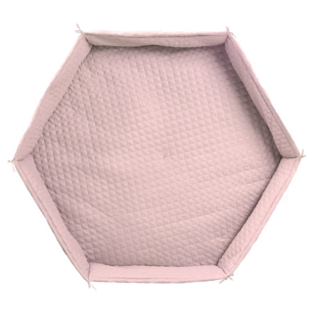 roba Matelas tapis de parc enfant hexagonal Style rose