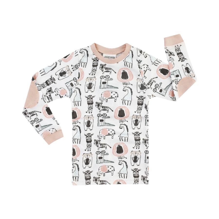 JACKY Unterhemd langarm GIRLS alloverbedruckt