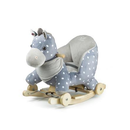 Kinderkraft Horse på en gyngestang med kjørefunksjon