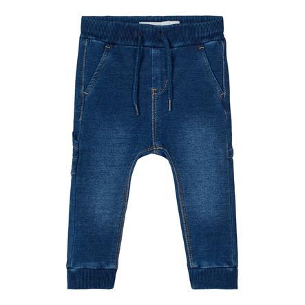 name it Boys Sweat Jeans NBMROMEO Dark Blue Denim