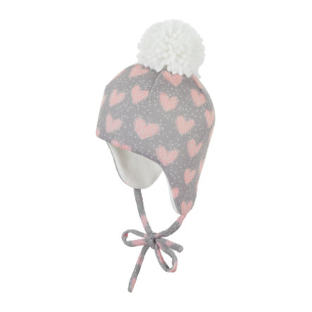 Sterntaler Inka-Mütze kiesel