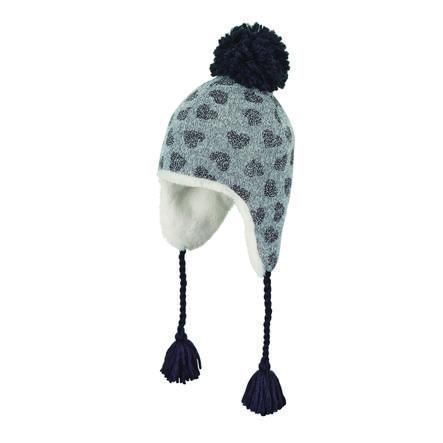 Sterntaler Inka-Mütze rauchgrau