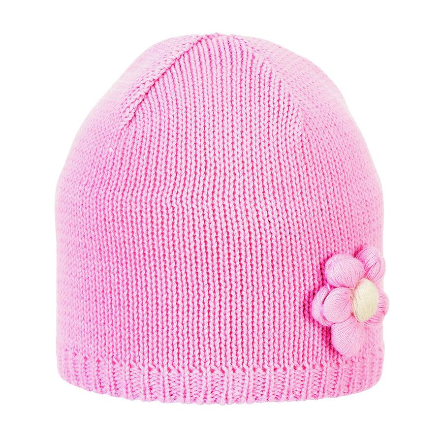 Sterntaler Strickmütze rosa