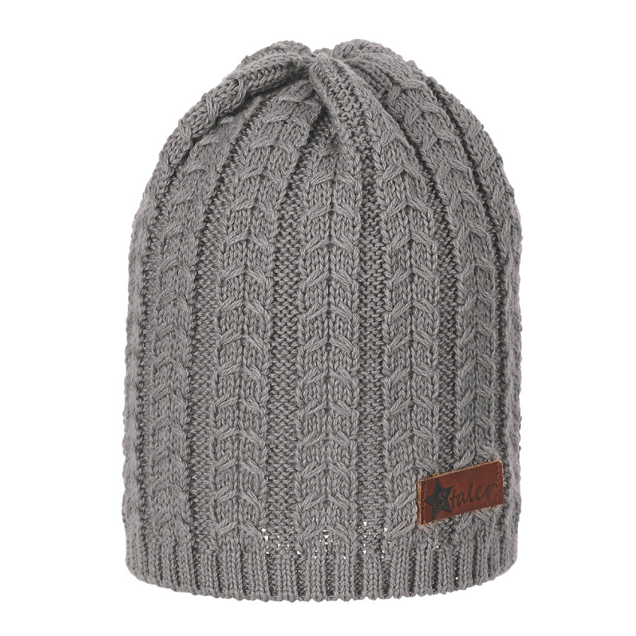 Sterntaler pletená čepice světle hnědá