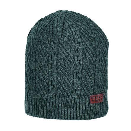 Sterntaler Cappello in maglia antracite melange