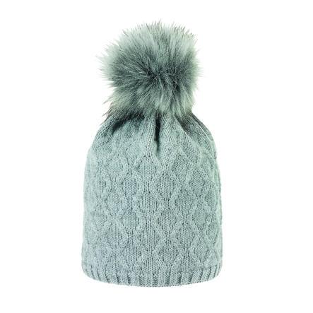 Sterntaler pletená čepice stříbrná melanž